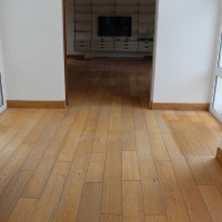 Solid Oak before renovation