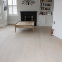 Professional Floor Sanding and Finishing with Reaction Stain and 2 coats of Dead Mat Laquer 4