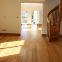 Solid Oak after renovation and finishing with Induro XL1 from Morrels Semi-Mat 2