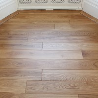 Supply and Fit Solid Oak with Border 1