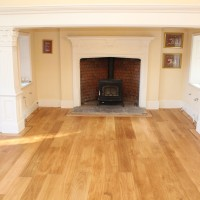 Supply and Fit Solid Oak with Border 5