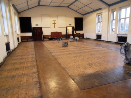 floor-sanding-church