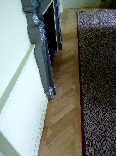 oak parquet floors