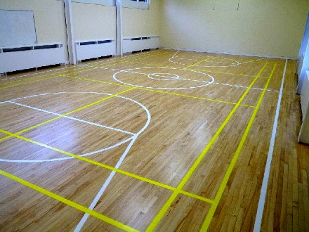 Wooden Sports Hall Floors In Bristol Floor Fitting Services